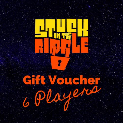 Gift Voucher 6 players
